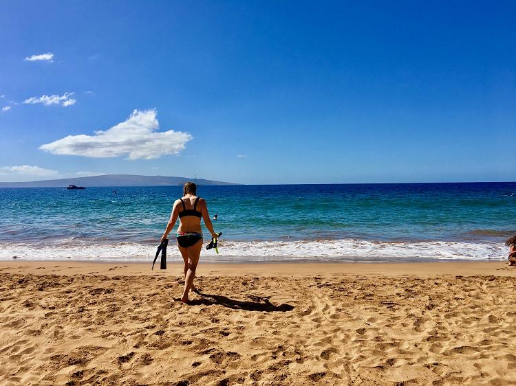 Maui, Hawaii, Poolenalena Beach, The Snorkel Store