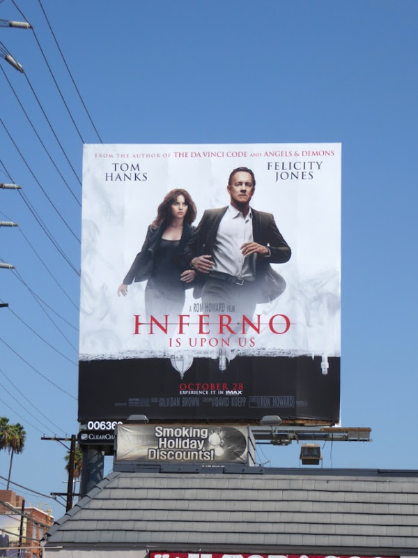 Inferno movie billboard