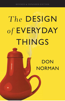 Portada del libro The Design of Everyday Things 2013 de Don Norman
