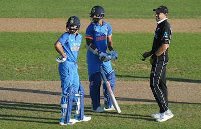 sun outrage during india new zealand oneday match.