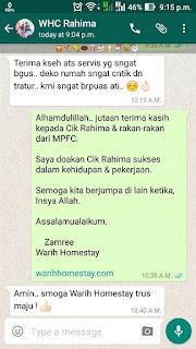 Warih-Homestay-Cik-Rahima-MPFC-Testimoni