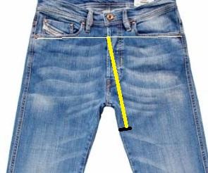 La vita by Maty: Modificare jeans,si può ! Accorciarli