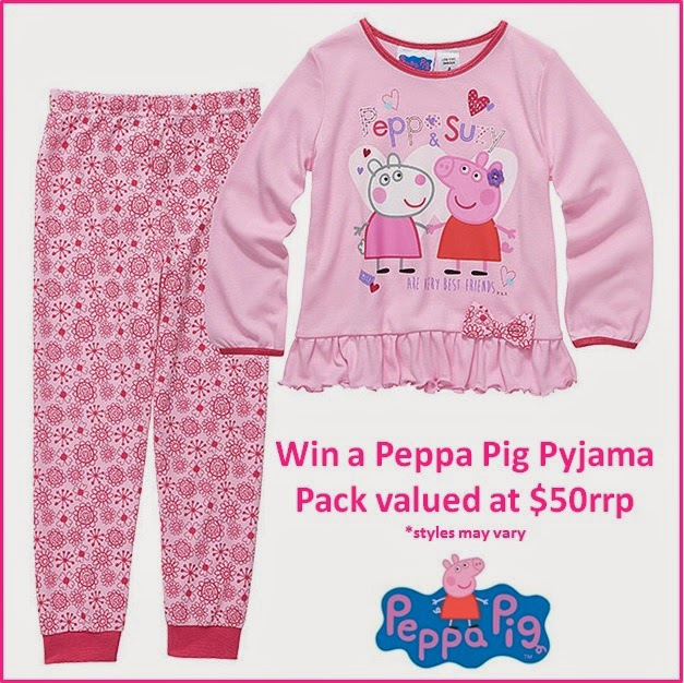 Win a Peppa Pig PJ Pack