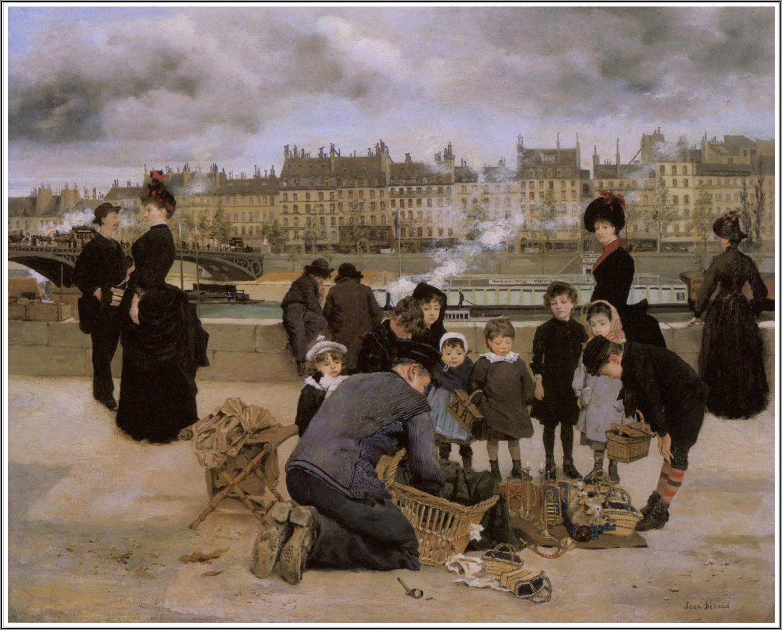 Le Prince Lointain Jean Béraud 18491935 Marchand De Jouets Sur
