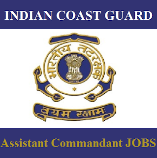 Indian Coast Guard, Assistant Commandant, 12th, Force, freejobalert, Sarkari Naukri, Latest Jobs, indian coast guard logo