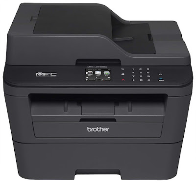 DW Wireless Monochrome Printer with Scanner Brother MFC-L2740DWR Printer Driver Downloads