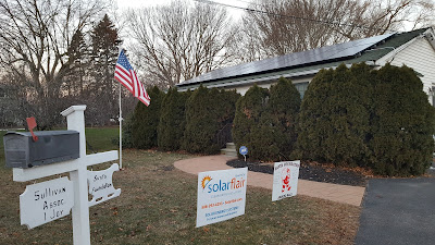 new solar system installed at Santa Foundation as a result of the successful Solar Challenge held in Franklin