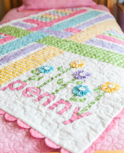 Penny's Garden Quilt Free Pattern