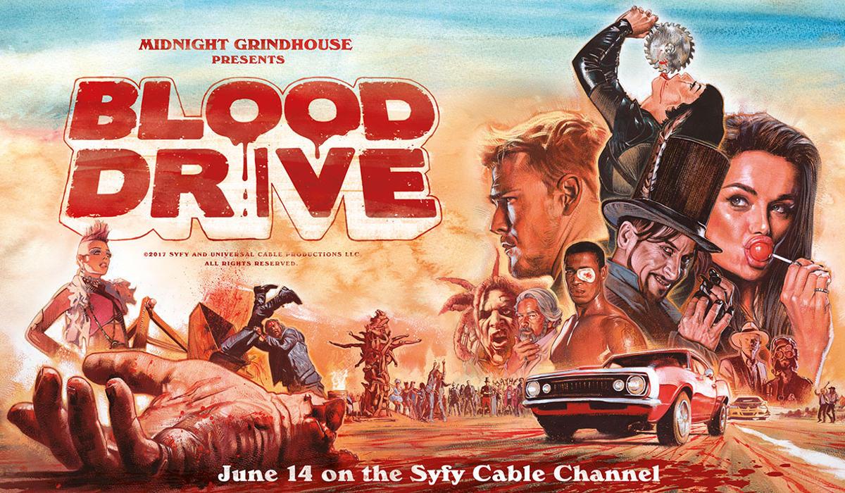 Blood Drive Syfy