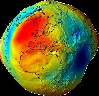 forma de la tierra verdadera. Geoide