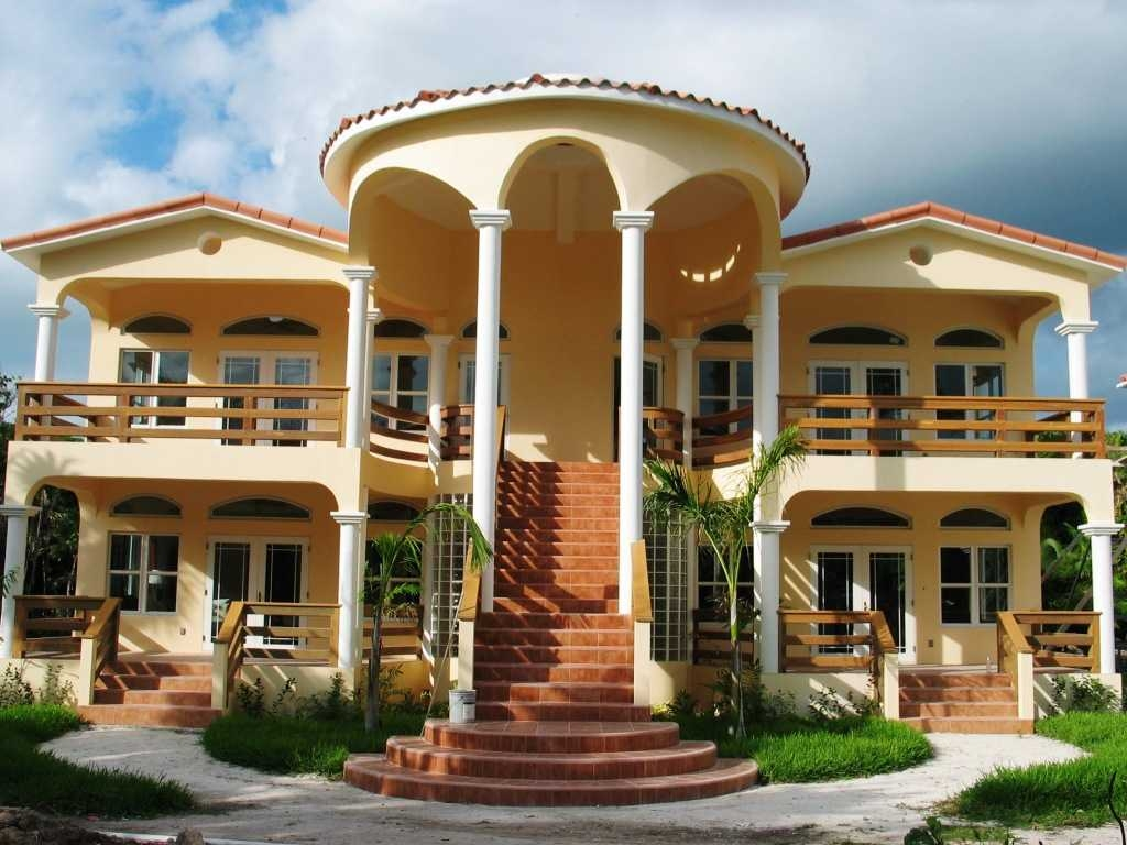 New Home Designs Latest.: Modern Dream Homes Exterior Designs
