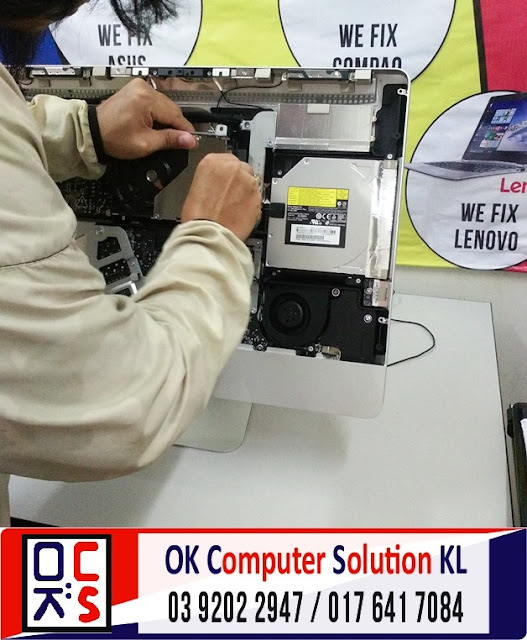 [SOLVED] TUKAR HARD DISK APPLE IMAC 21 | REPAIR DESKTOP AMPANG 4