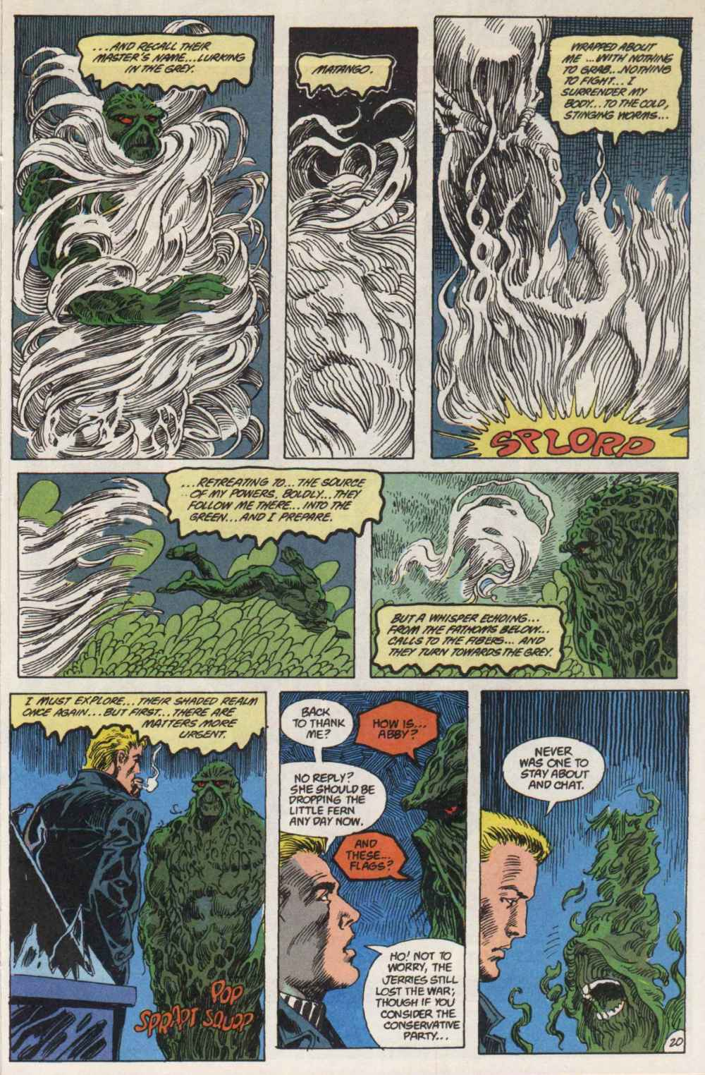 Swamp Thing (1982) Issue #90 #98 - English 20
