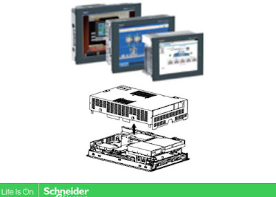 Magelis Compact iPC; An Industrial PC and Display from Schneider Electric to help users to follow and contextual data during the process