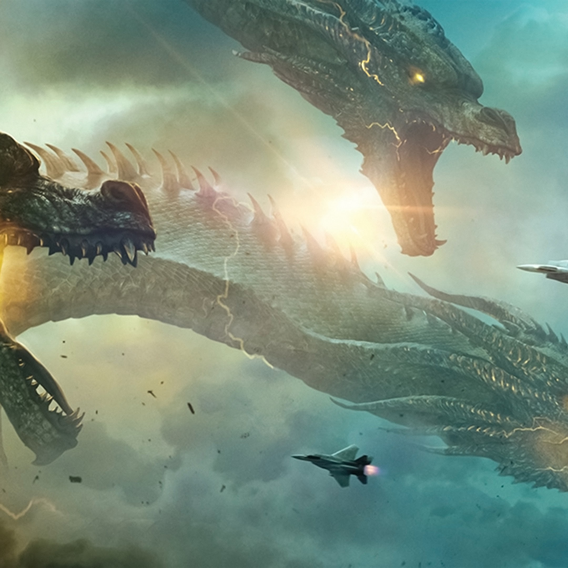King Ghidorah, Godzilla: King Of The Monsters, 4K, #19