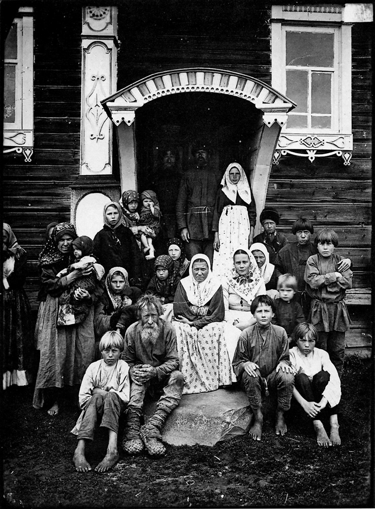 Black Amp White Photos Of Life In Russia More Than 100 Years