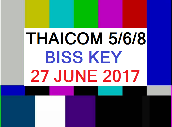 New CW All Biss key IPM Thaicom 5 C Band Update 27 June 2017