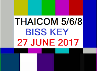 Biss Key IPM Satellite Thaicom 5/6/8 C Band