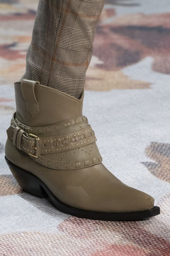 Zimmermann with Khaki Color Ankle boots