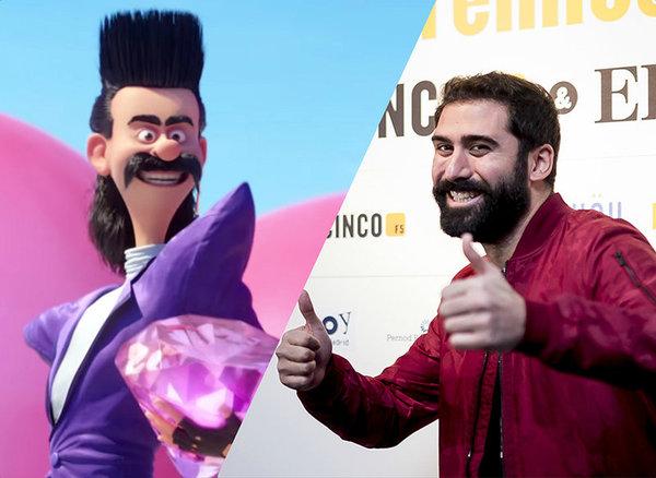 Balthazar el nuevo villano de Gru lo interpreta Jorge Cremades
