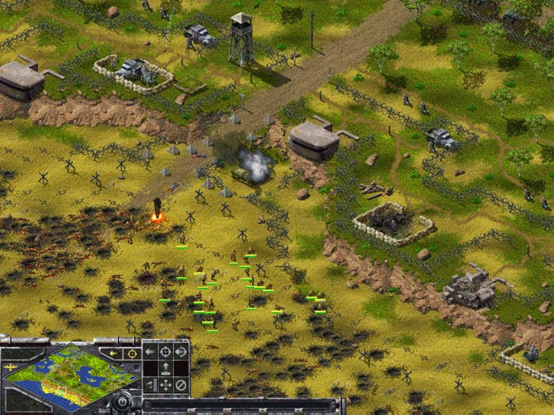 Sudden Strike Gold Game - Free Download Full Version For PC
