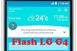 How To Flash Stock Firmware on LG G4 With LG UP Software