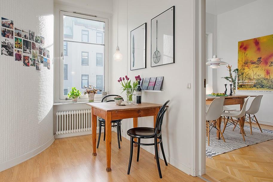 Maison du chocolat apartamento de 60m2 for Diseno de apartamento de 60m2