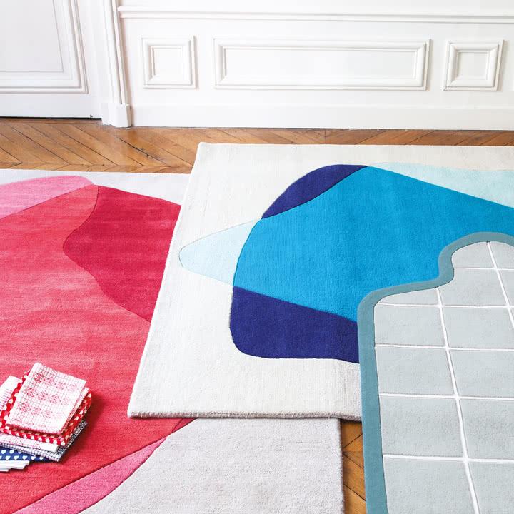 Kolorowe dywany z ciekawym wzorem