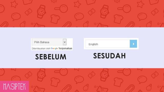 Cara Membuat Widget Translate Blog Keren