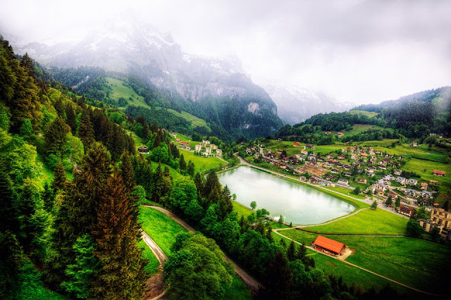 vadide küçük göl