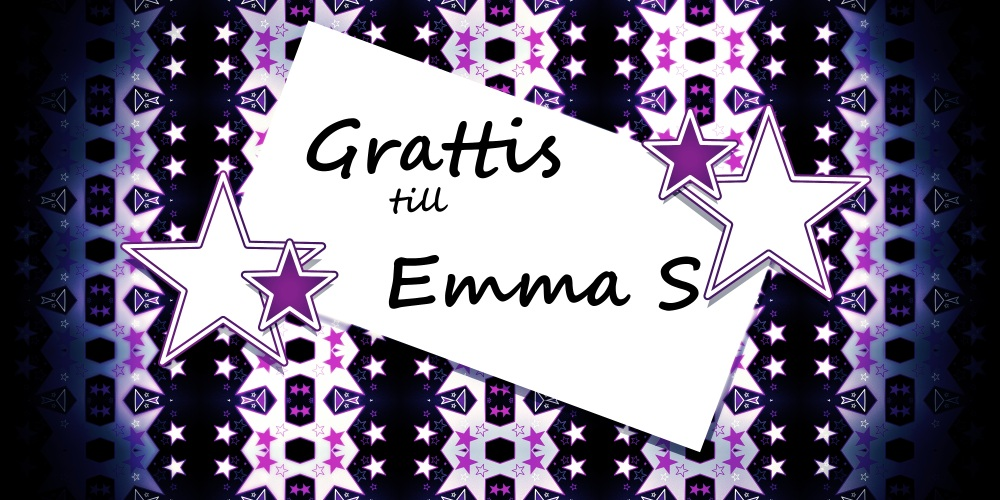 grattis emma By Vanilla: Vinnaren är grattis emma