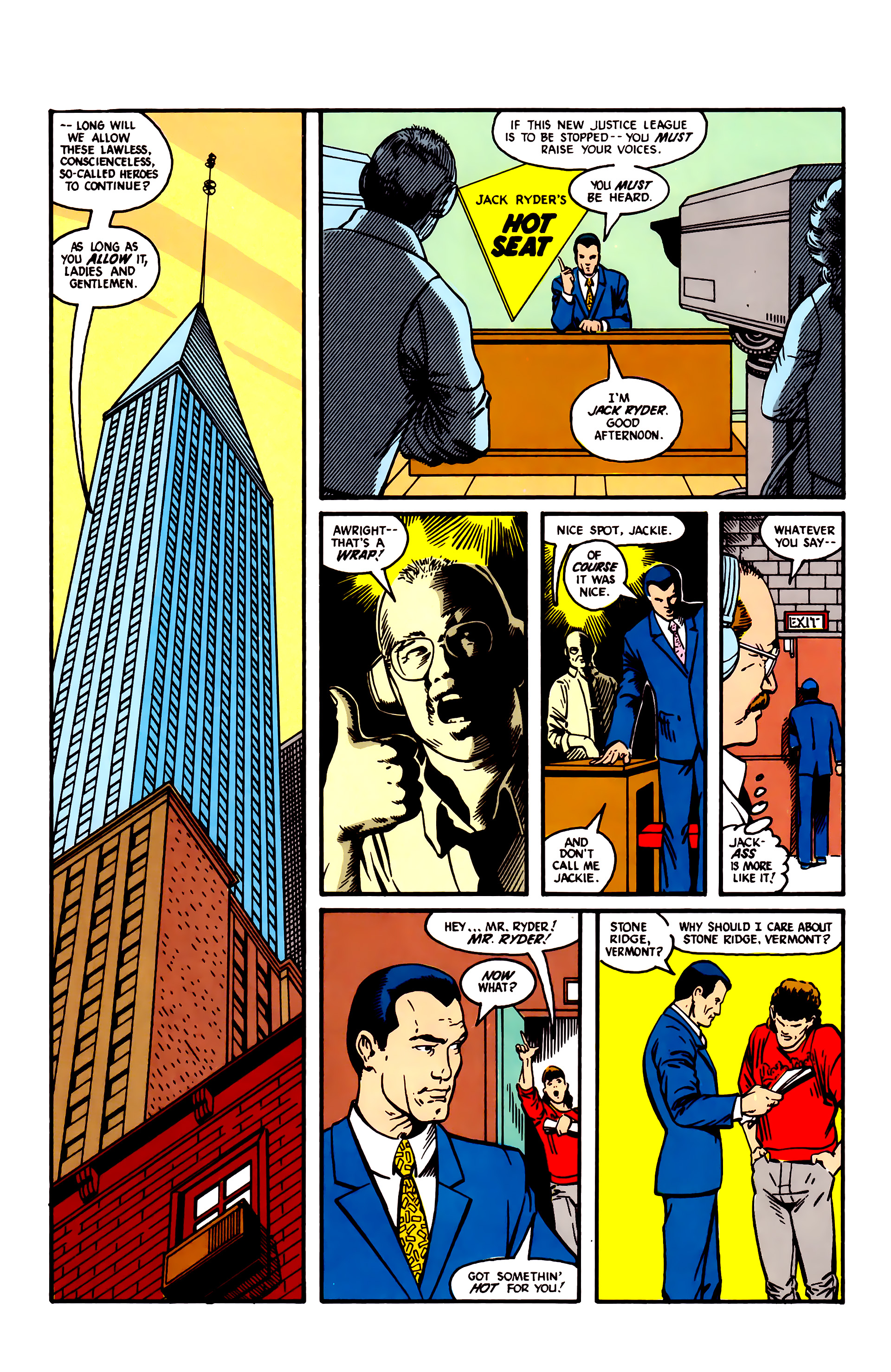Read online Justice League (1987) comic -  Issue #5 - 5