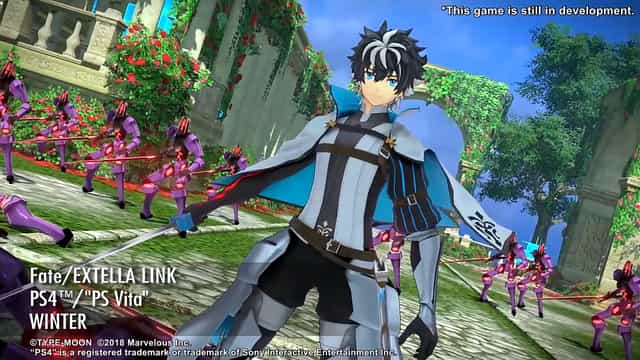 Fate/Extella Link to release for PS4 and PSVita in the west this Winter
