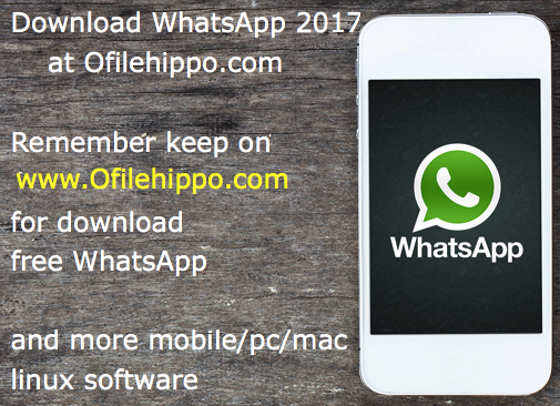 whatsapp for laptop free download filehippo