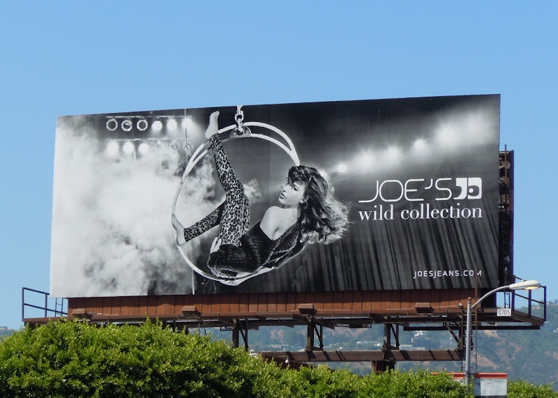 Joe's Jeans Wild Collection billboard