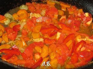 пассеруем овощи для рагу