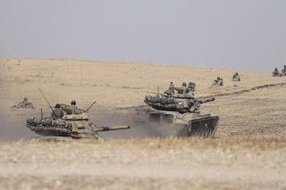 Turki Hentikan Operasi Militer di Suriah
