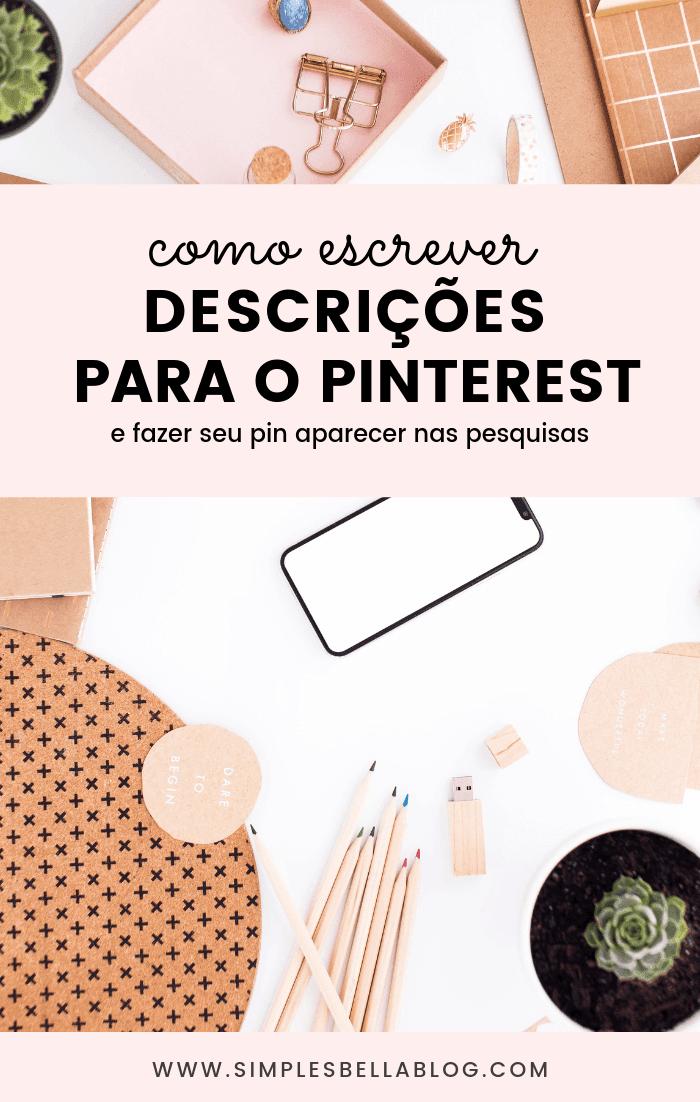 Como escrever descrições para suas imagens no Pinterest