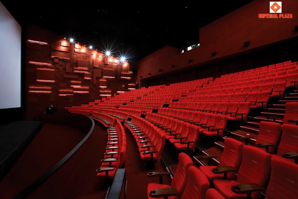 Phòng chiếu phim dự án 360 Giải Phóng