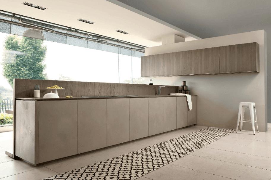 Gruesas puertas de cocina que hacen la diferencia for Idea de cocina de color topo