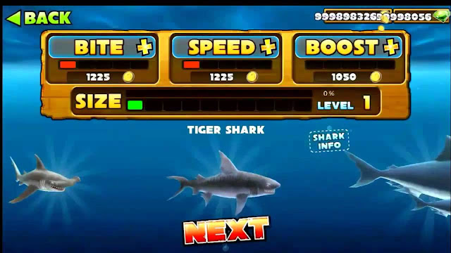 Cheat hungry shark terbaru