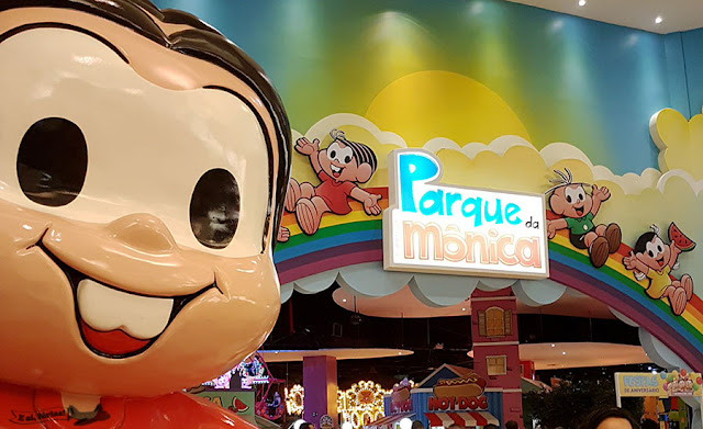 Parque da Mônica, SP Market, São Paulo, Maurício de Souza