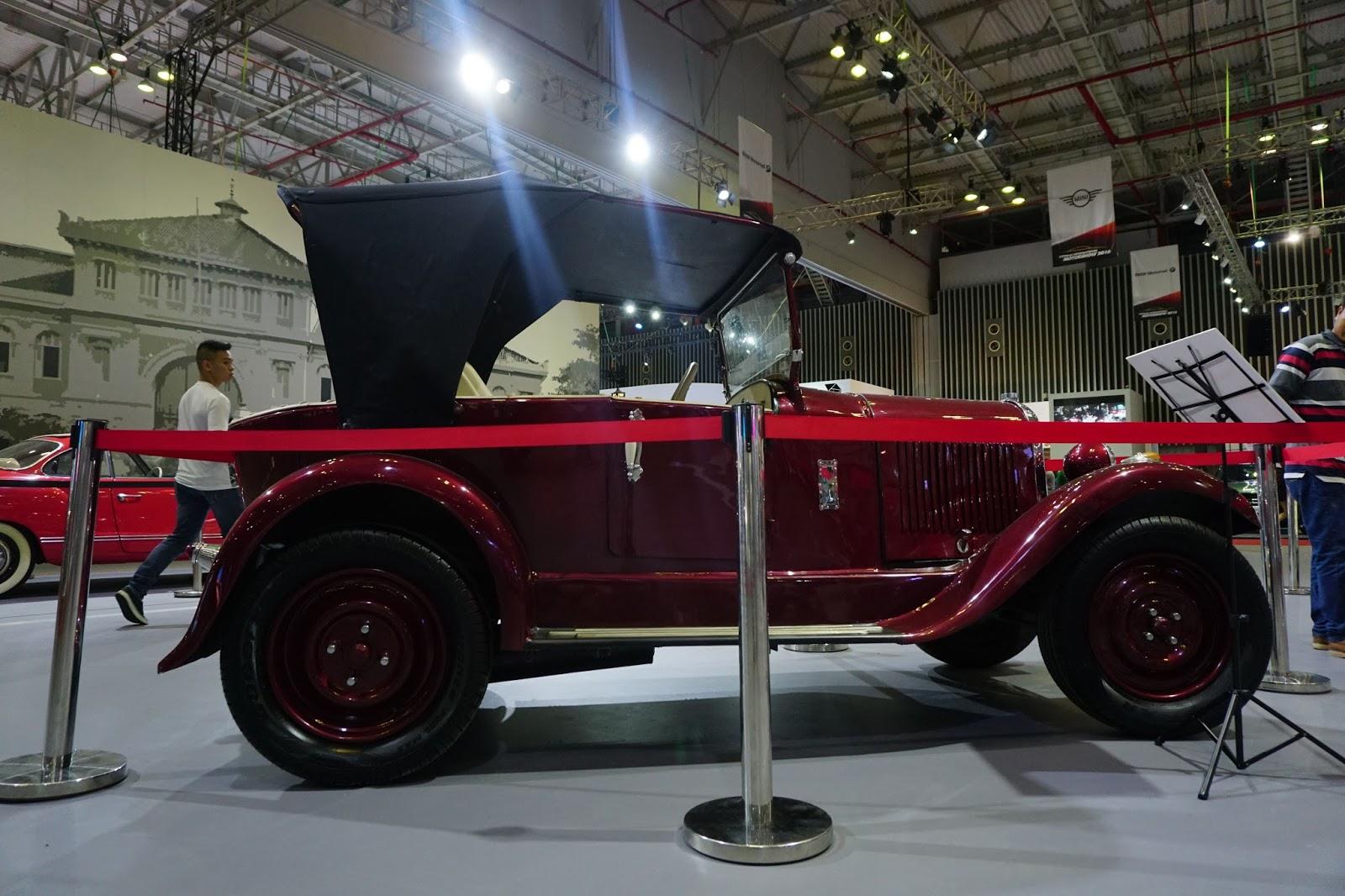 Chiếc xe cổ nhất Việt Nam là Citroen 1902