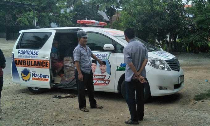 Ambulance Gratis, Warga Sampaikan Terima Kasih ke PAMMASE
