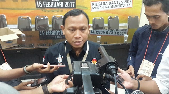Ketua KPU: Debat Pasangan Cagub Banten, Disiarkan Secara Langsung