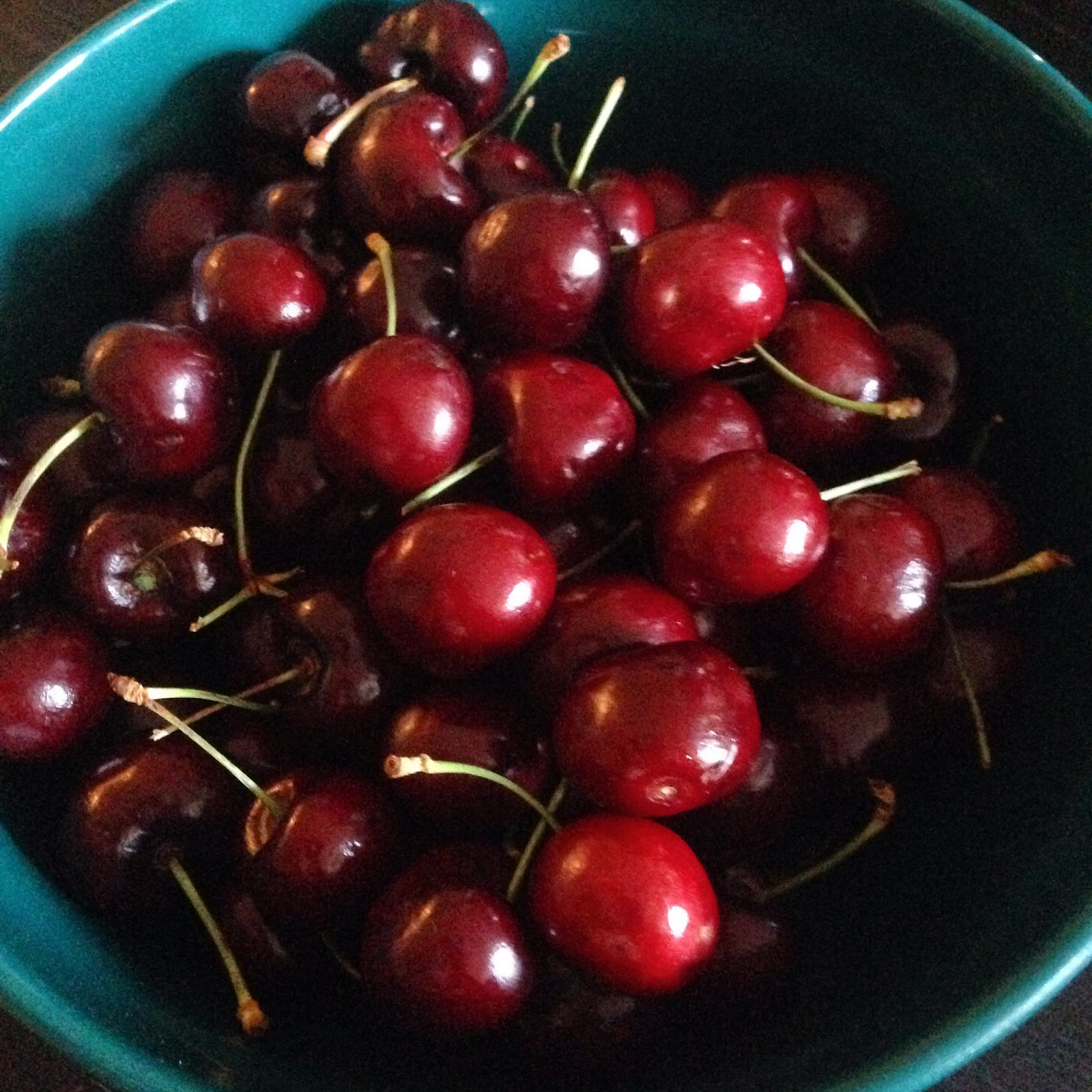Life is bowl full of ripe Bing cherries.