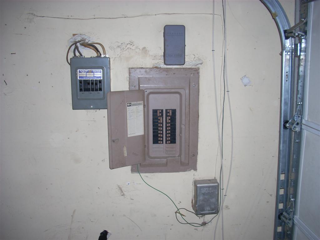 hight resolution of the sub panel touting 80 amp capacity was not only tapped into a single 60 amp breaker but also just happened to be double tapped multiple circuits