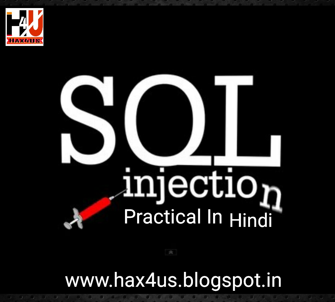Hack site using sql injection fully explained with practical video hax4us baditri Images