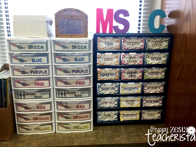 Elementary teacher looking for back to school ideas to spiff up your class decor? This class decoration post will give you classroom ideas to help with classroom organization AND give you back to school bulletin boards that will be perfect for your school!