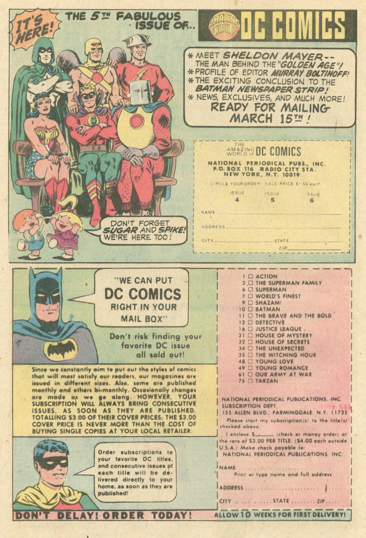 Read online World's Finest Comics comic -  Issue #231 - 8